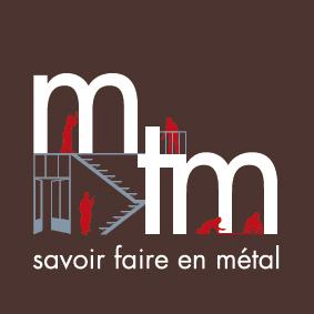 logotype de MTM serrurerie-métallerie et menuiserie métallique