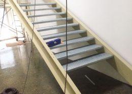 mtm, serrurerie métallerie à Monts (Indre et Loire) : Réalisation d'un escalier métallique