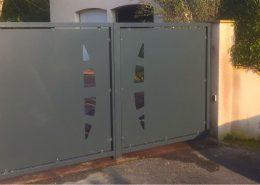 mtm, serrurerie métallerie à Monts (Indre et Loire) : Réalisation d'un portail en acier ajouré