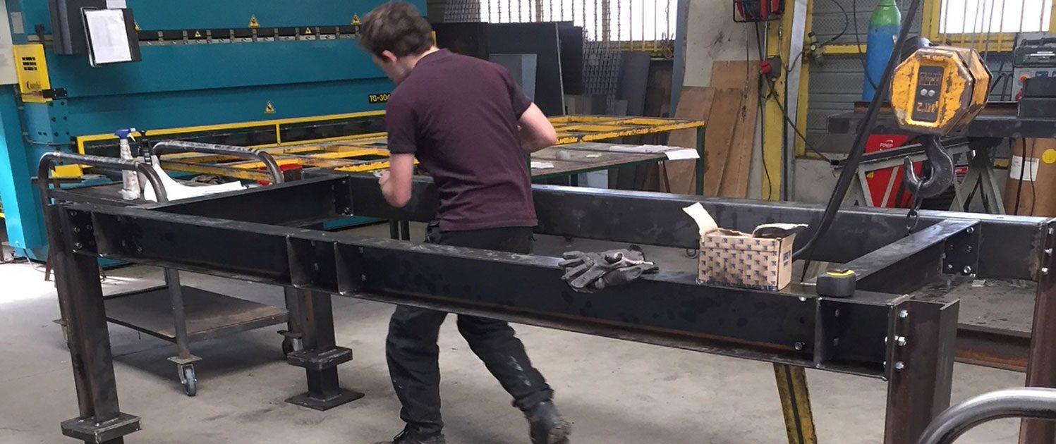 mtm, serrurerie métallerie à Monts (Indre et Loire) : réalisation d'un rampant d'escalier