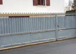 mtm, serrurerie métallerie à Monts (Indre et Loire) : réalisation d'un portail en acier galvanisé sur mesure