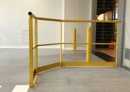 Garde-corps en milieu industriel : une réalisation de mtm, serrurerie-métallerie à Monts