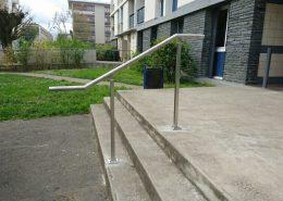 mtm, serrurerie métallerie à Monts (Indre et Loire) : Réalisation d'une rampe en inox